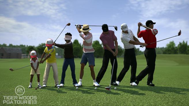 Tiger Woods Pga Tour  Controls Xbox