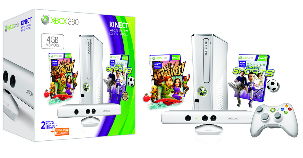 Xbox 360 Special Edition 4gb Kinect Coming To Sa In May Limited