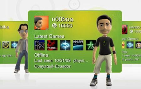 Xbox Live Accounts Held