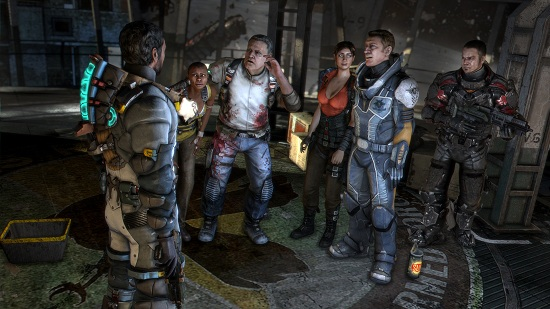 Artistry in Games dead-space-3-review-screem3 Finding Religion in Dead Space Opinion  unitology Space secularism religious religion protestantism in dead space dead christianity atheism